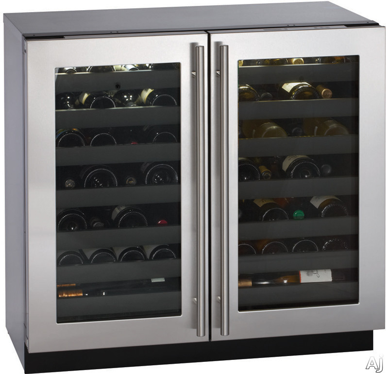 "U Line Modular 3000 Series 3036WCWC 36"" Built-in Wine Storage with 62 Bottle Capacity, Dual Zone, U.S. & Canada 3036WCWC"