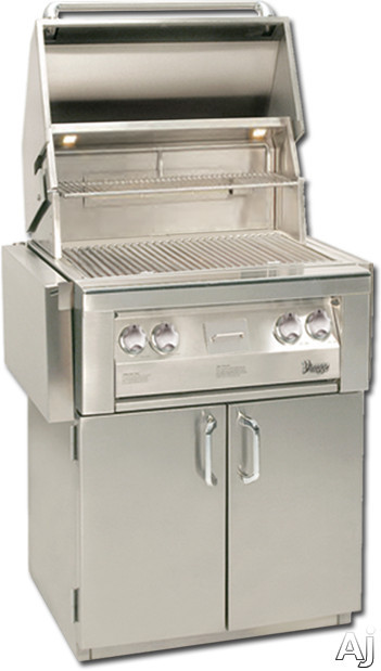 Vintage VBQ30GBN 30 Inch Built-in Gas Grill with 542 sq. in. Cooking Surface, 55,000 Total BTUs, Stainless Steel Grates, Halogen Grill Lighting, Electronic Ignition and Drip Tray
