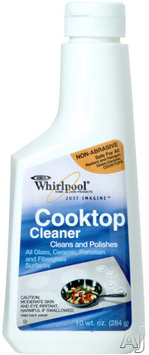 Whirlpool 31464 10 fl. oz. Cooktop Cleaner, U.S. & Canada 31464
