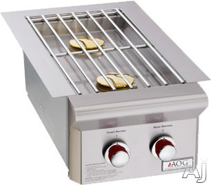 American Outdoor Grill 3282L L Series Built-in Double Side Burner: Natural Gas