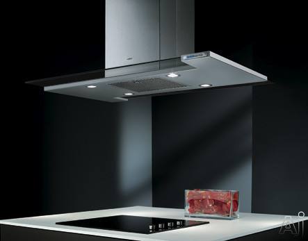 "Elica Twin Optica Series ETWX42SS 42"" Island Chimney Range Hood with Optional Internal / In-Line, U.S. & Canada ETWX42SS"