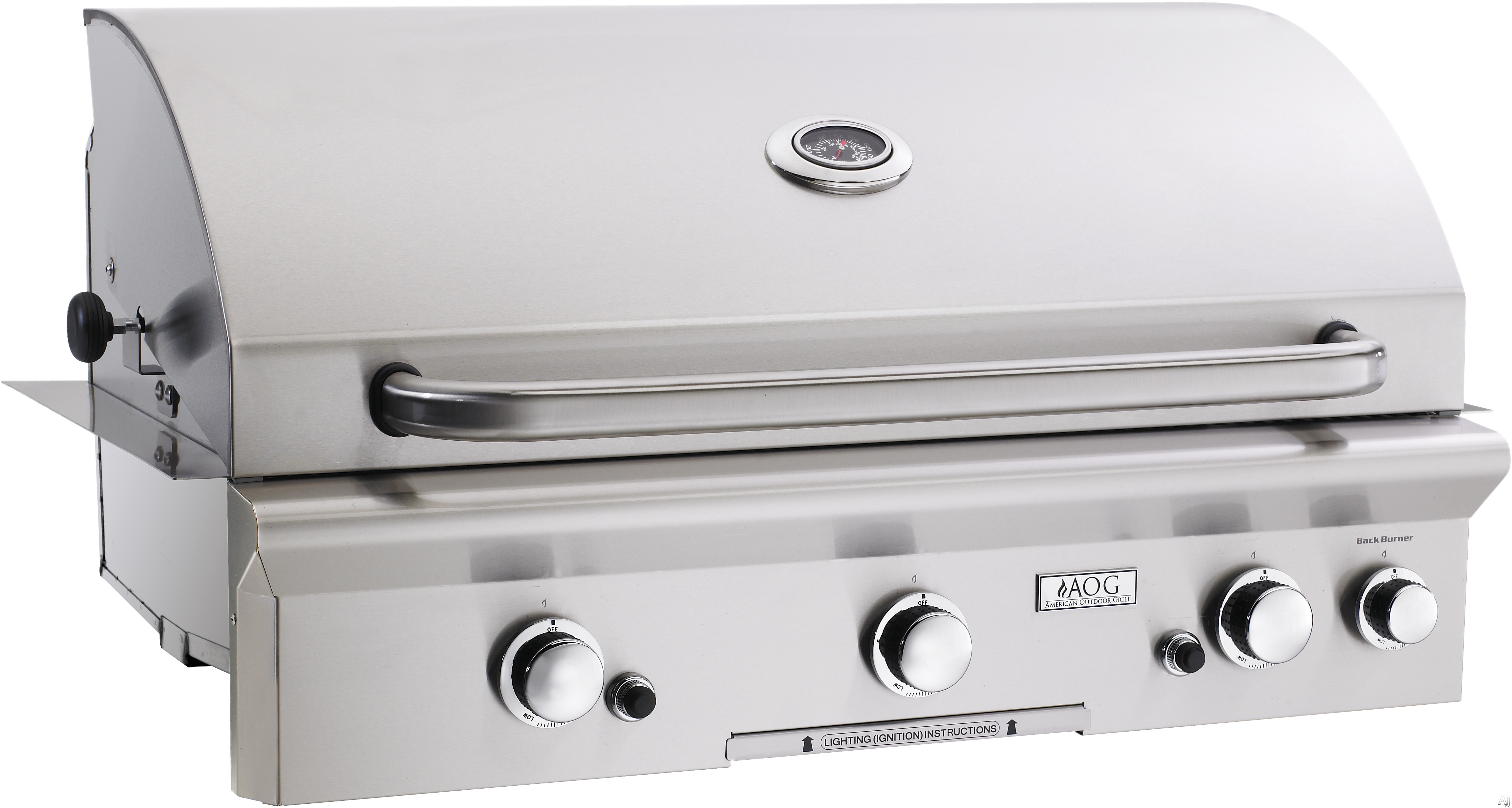 """American Outdoor Grill 36NBX 36"""" Built-in Gas Grill with 648 sq. in. Cooking Surface, 61,000 Total, U.S. & Canada 36NBX"""