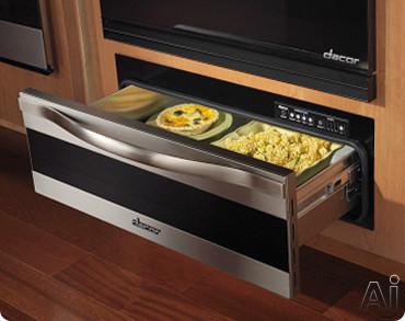 Dacor Renaissance Millennia MWDH Warming Drawer with 500 Watt Heating Element, 4 Timer Settings, U.S. & Canada MWDH
