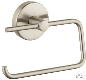 Hansgrohe 40526HGSE Wall Mount Toilet Paper Holder with Metallic Finish