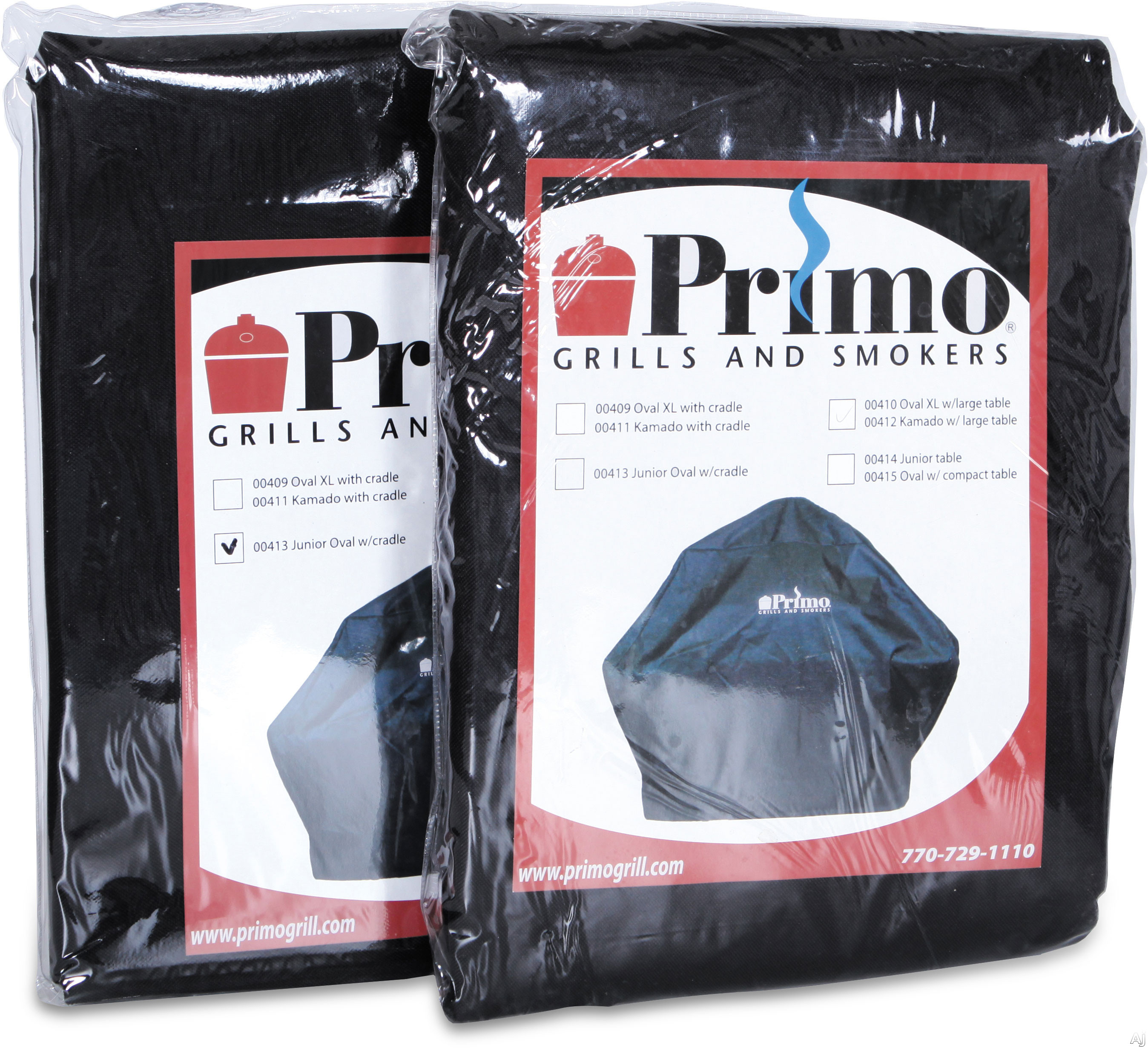 Primo 414PRIMO Grill Cover - For Oval 400 In Compact Table or Cart and For Oval 200 In Table