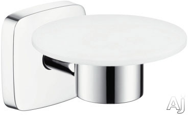 Picture of Hansgrohe PuraVida Series 41502000 Wall Mount Soap Dish with Chrome Finish