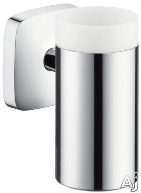 Picture of Hansgrohe PuraVida Series 41504000 Wall Mount Toothbrush Tumbler with Chrome Finish