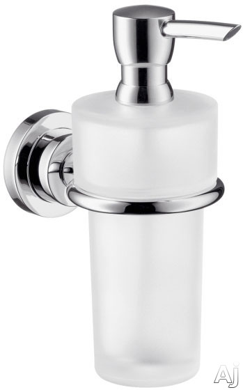 Hansgrohe 41719820 Wall Mount Soap Dispenser With Metallic