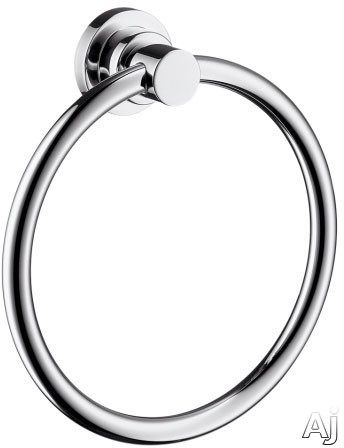 Picture of Hansgrohe Axor Citterio Series 41721 Wall Mount Towel Ring with Metallic Finish