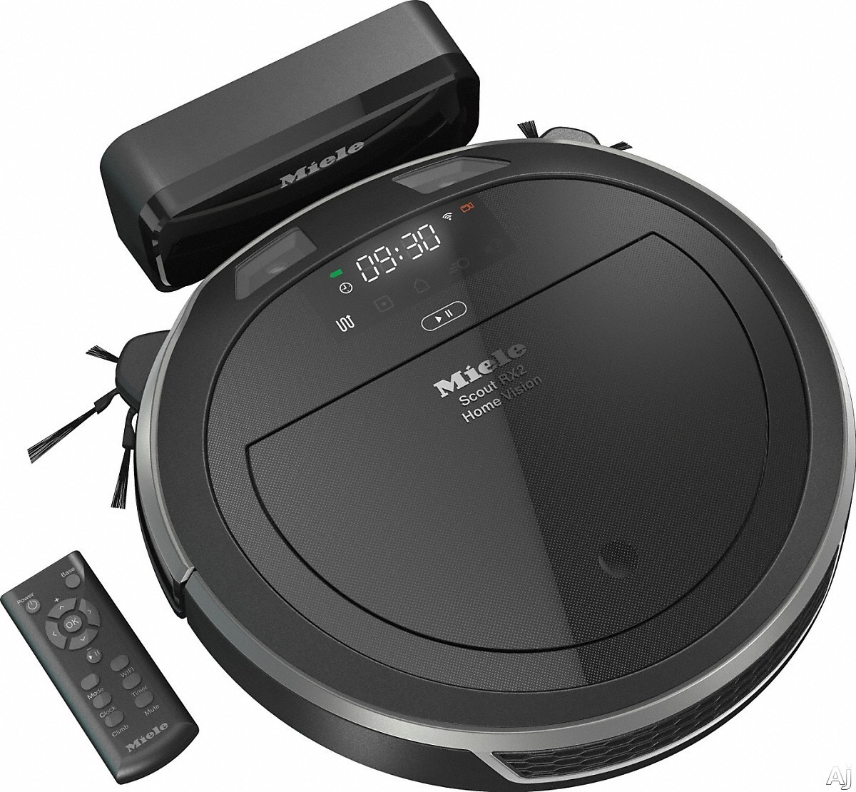 Miele 41LQL030USA Scout RX2 Home Vision Robotic Vacuum Cleaner with Quattro Cleaning Power, 3D Smart Navigation and Home Vision