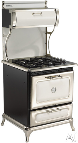 """Heartland Classic Collection 4210CDPWHT 30"""" Dual Fuel Range with 4 Sealed Gas Burners, 4.0 cu. ft., U.S. & Canada 4210CDPWHT"""