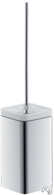 Picture of Hansgrohe Axor Urquiola Series 42435 Wall Mount Toilet Brush with Holder and Metallic Finish