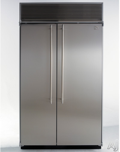 "Northland 36SSSP 36"" Built-in Side by Side Refrigerator with 23.0 cu. ft. Capacity, Clear Tempered, U.S. & Canada 36SSSP"