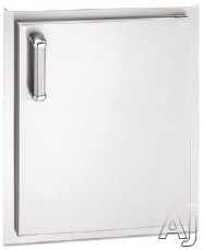 "Fire Magic Flush Mounted Doors 53924SR 17"" Flush Mounted Single Access Door (Not Exact Image): Right, U.S. & Canada 53924SR"