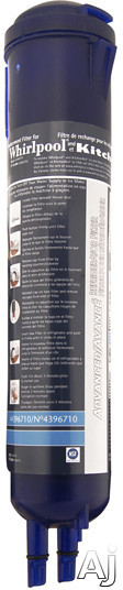 Whirlpool 4396710 Refrigerator Water Filter - Push-Button Cyst Filter