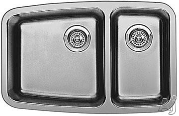 Blanco 440101 Performa Undermount Small Double Bowl Kitchen Sink