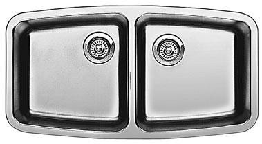 Blanco Performa Small Double Bowl Kitchen Sink