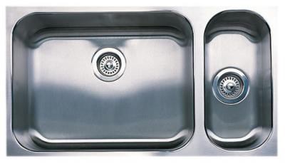 "Blanco Spex Plus 440256 32"" Undermount Double Bowl Stainless Steel Sink with 18-Gauge, 8-1 / 2"", U.S. & Canada 440256"
