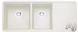 "Blanco Precis 440410x 48"" Undermount Double Bowl Granite Sink with 9-1 / 2"" Bowl Depths, 80%, U.S. & Canada 440410x"