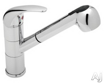 """Blanco Torino 441410 Single Lever Pull-Out Kitchen Faucet with 7 3 / 4"""" Reach, 8 1 / 2"""" Height, U.S. & Canada 441410"""