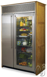"Northland 60SSSGP 60"" Built-In Side by Side Refrigerator with Stainless Steel Interior, Automatic, U.S. & Canada 60SSSGP"