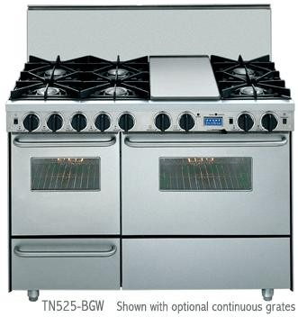 gas oven double oven gas range side by side