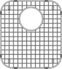 Blanco Stellar 515296 Stainless Steel Sink Grid - Blanco Stellar Equal Double Bowl