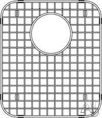 Blanco Stellar 515297 Stainless Steel Sink Grid - Blanco Stellar Small Bowl 1-3/4
