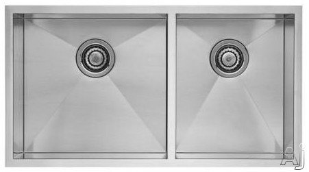 Blanco 518169 33 Quot Undermount Double Bowl Stainless Steel