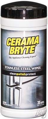 Frigidaire 5305512345 Cerama Bryte Stainless Steel Wipes