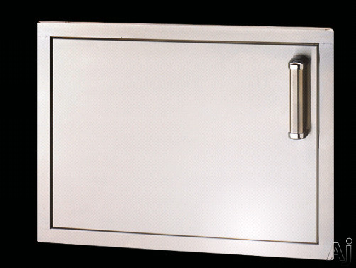 "Fire Magic Flush Mounted Doors 53917SL 24"" Flush Mounted Single Access Door: Left Hinge Door Swing, U.S. & Canada 53917SL"