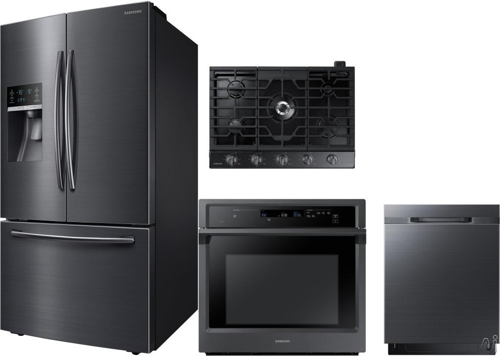 Samsung SARECTWODW112 4 Piece Kitchen Appliances Package