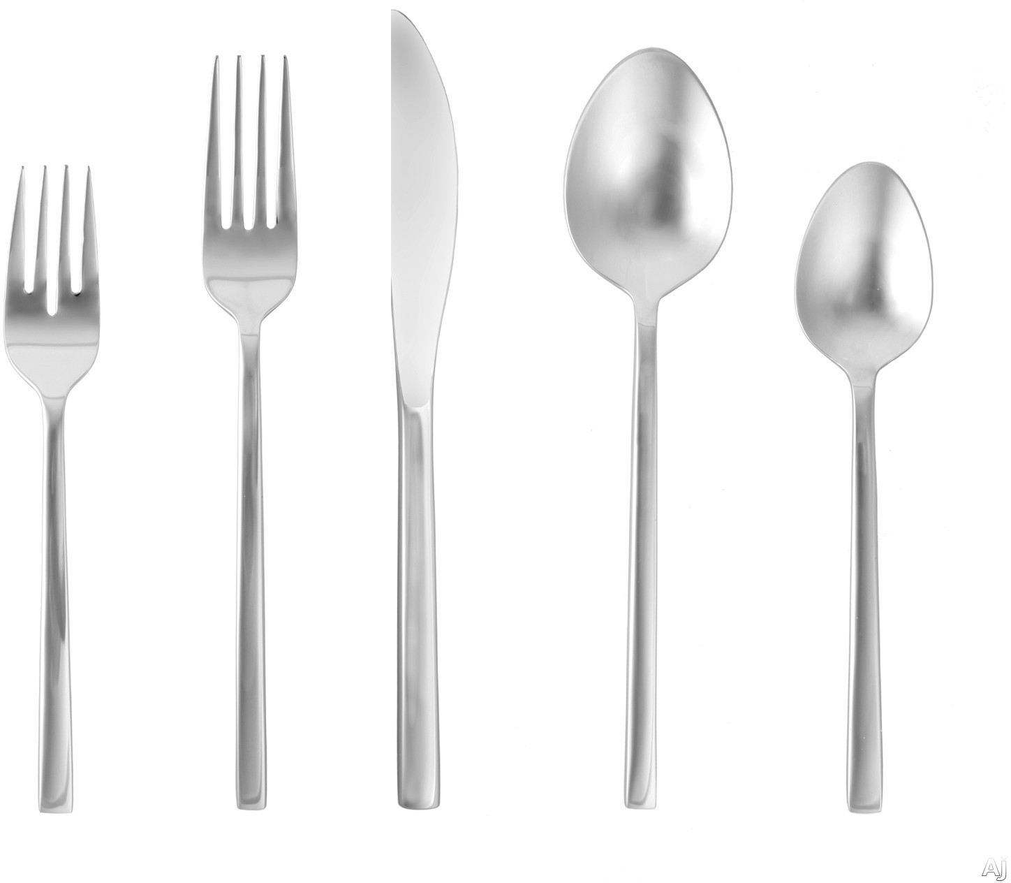 Fortessa 5PPS16520PC Arezzo Stainless Steel 20-Piece Flatware Set with Heavy Gauge Stainless Steel and Balanced Design