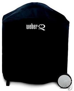 Weber Q 6553 Premium Vinyl Cover, U.S. & Canada 6553