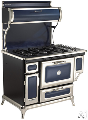 "Heartland Classic Collection 720000GCBL 48"" Freestanding Gas Range with 6 Sealed Burners, 3.6 cu., U.S. & Canada 720000GCBL"