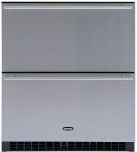 "Marvel 80RDE 30"" Built-in Double Drawer Refrigerator with White Interior, Interior Lights, Sabbath, U.S. & Canada 80RDE"