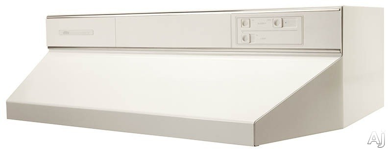 Broan 88000 Series 884201 42 Inch Under Cabinet Range Hood with 360 CFM Internal Blower, Infinite Speed Slide Controls, Standard Heat Sentry, 2 Washable Aluminum Filters and Convertible to Recirculating: White