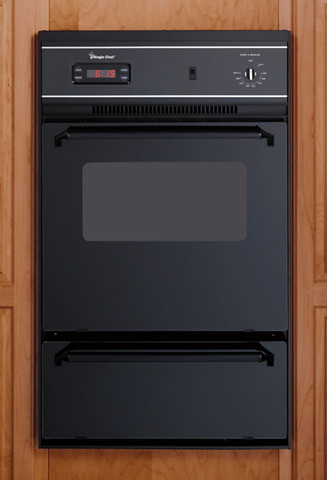 Magic chef 9112 24 inch single gas wall oven with lower broiler 2