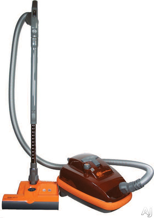 SEBO Airbelt K3 968AM Mid-Size Canister Vacuum Cleaner with 1250-Watt Motor, Swivel Casters, U.S. & Canada 968AM