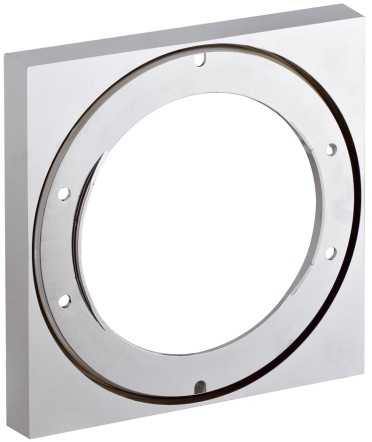 Hansgrohe Axor Citterio Series 97407000 7/8 Inch Thermostatic Trim Shallow Extension Set: Chrome