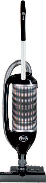 SEBO Felix 1 Premium 9807AM Upright Multi-Surface Vacuum Cleaner with 1300 Watts, Flex Neck, 4-Level, U.S. & Canada 9807AM