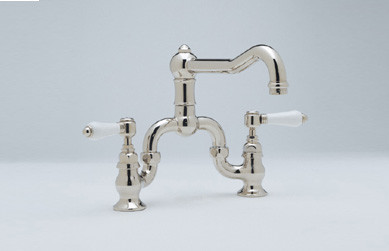 Polished Nickel (Porcelain Lever Handles Shown)