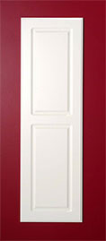 White Raised Panel Door