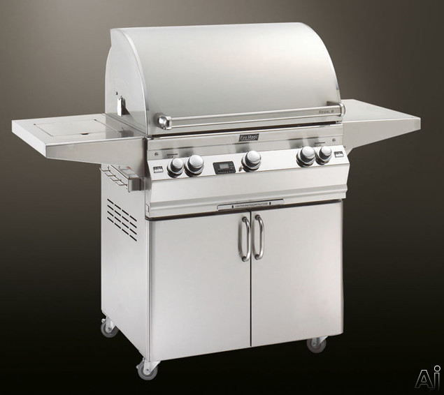 """Fire Magic Aurora Collection A660S2A1N62 62"""" Freestanding Gas Grill with 660 sq. in. Cooking Area, U.S. & Canada A660S2A1N62"""