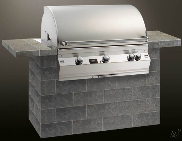 """Fire Magic Aurora Collection A790I2A1 37"""" Built-in Gas Grill with 792 sq. in. Cooking Area, 113,000, U.S. & Canada A790I2A1"""