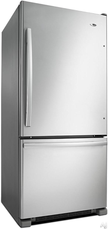 Amana Abb1924br 18 5 Cu Ft Bottom Freezer Refrigerator
