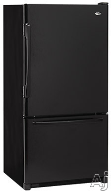 Amana Easy Reach Plus ABB1922FE 18.6 cu. ft. Freestanding Bottom-Freezer Refrigerator with 4 Glass Shelves, Adjustable Fresh Food Door Buckets and Deli Drawer