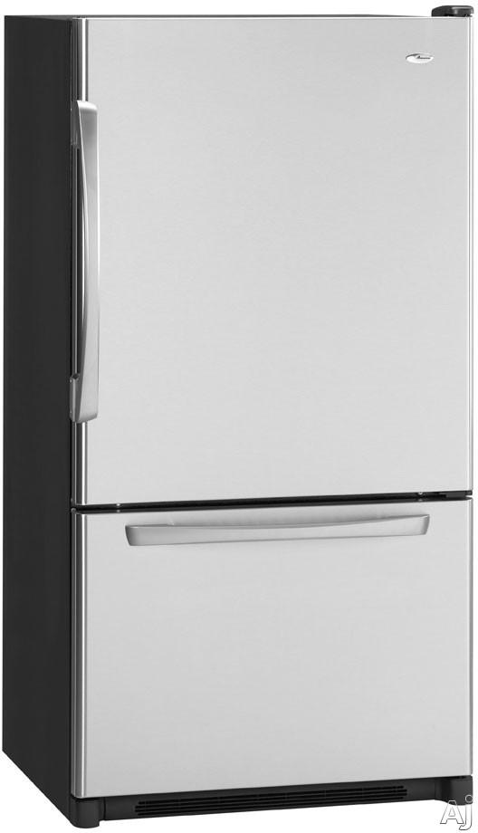 Refrigerador con congelador de cajones inferior