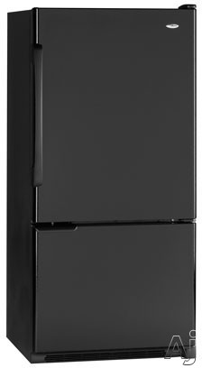 Amana Easy Reach ABB2221FE 22.1 cu. ft. Freestanding Bottom-Freezer Refrigerator with 3 Adjustable Glass Shelves, 2 Clear Humidity-Controlled Crispers and Freez