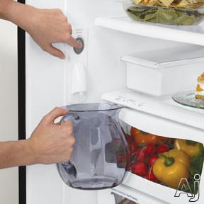 Amana Abd2233de 21 9 Cu Ft Bottom Freezer Refrigerator